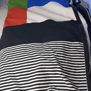 Ikea cotton twin duvet cover Mondrian design
